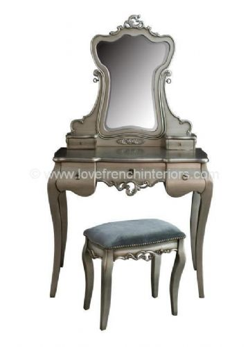 Tamsin Silver Dressing Table Set